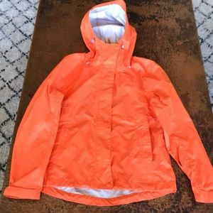 L.L. Bean Orange Rain Jacket. Size XS P. NWT.